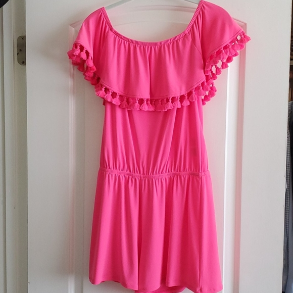 Lilly Pulitzer Hot Pink Romper